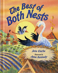The Best of Both Nests - A Book About Dealing with Divorce and Trauma With Kids