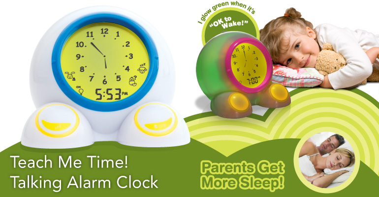 Teach Me Time Alarm Clock