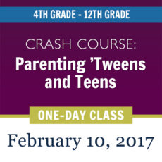 Love and Logic Parenting Class - February 2017