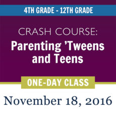 One-day parenting class in Denver